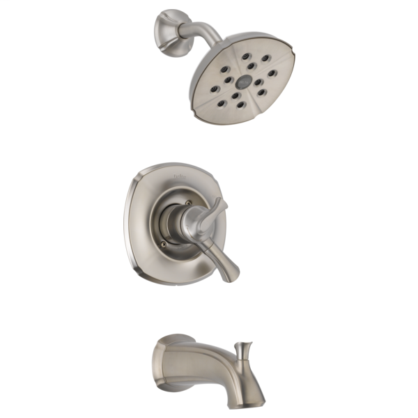 Addison Monitor 17 Series H2Okinetic Tub & Shower Trim - Stainless
