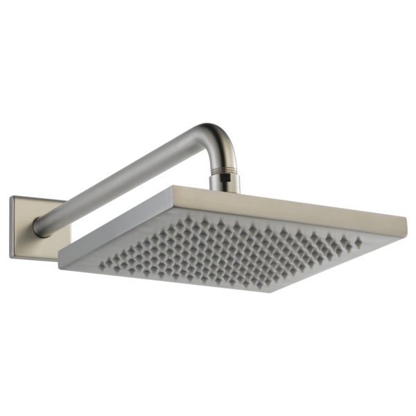 Metal Raincan Shower Head Assembly - Stainless