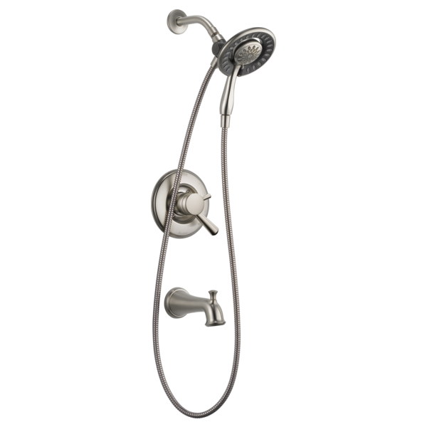 DELTA® T17493-SS-I Monitor® 17 Tub and Shower Trim, 1.75 gpm Shower, Brilliance® Stainless Steel