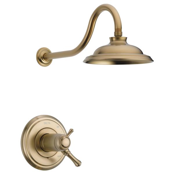 DELTA® T17T297-CZ-WE 17T Shower Trim, 1.75 gpm Shower, Brilliance® Champagne Bronze