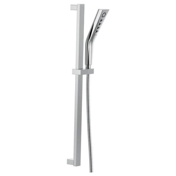 H2Okinetic 3-Setting Slide Bar Hand Shower - Chrome