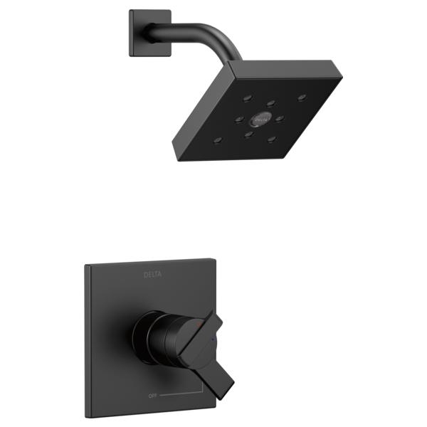 DELTA® T17267-BL Monitor® 17 Shower Trim, 1.75 gpm Shower, Matte Black