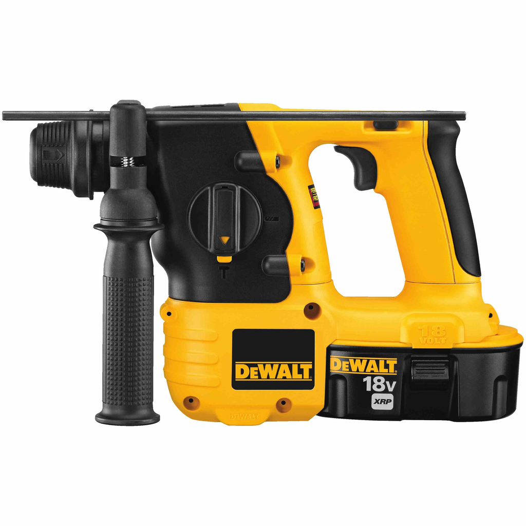 DEWALT DC212KA 18 Volt 0 to 4100 BPM SDS Plus Cordless Hammer Kit