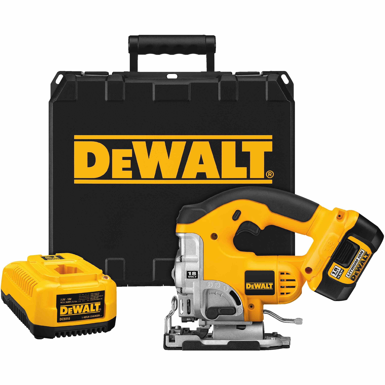 DeWalt,DCS330L,18V Cordless Jig Saw Kit