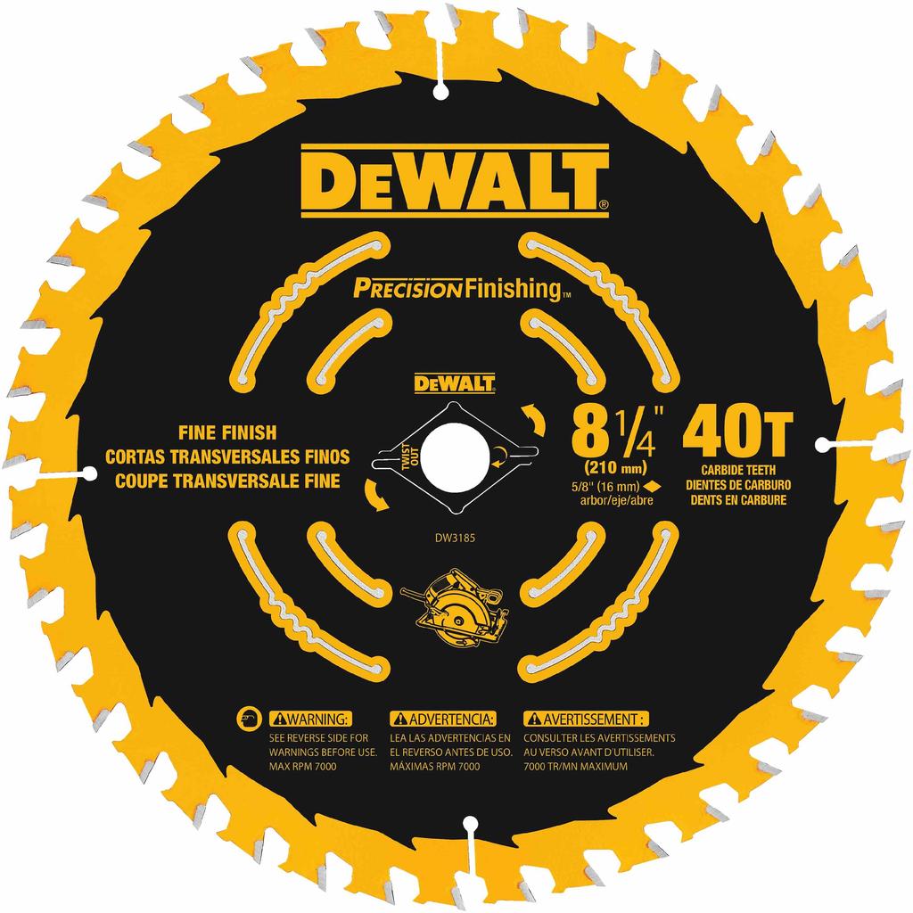 DIT DW3185 8-1/4 40T Single Precisi