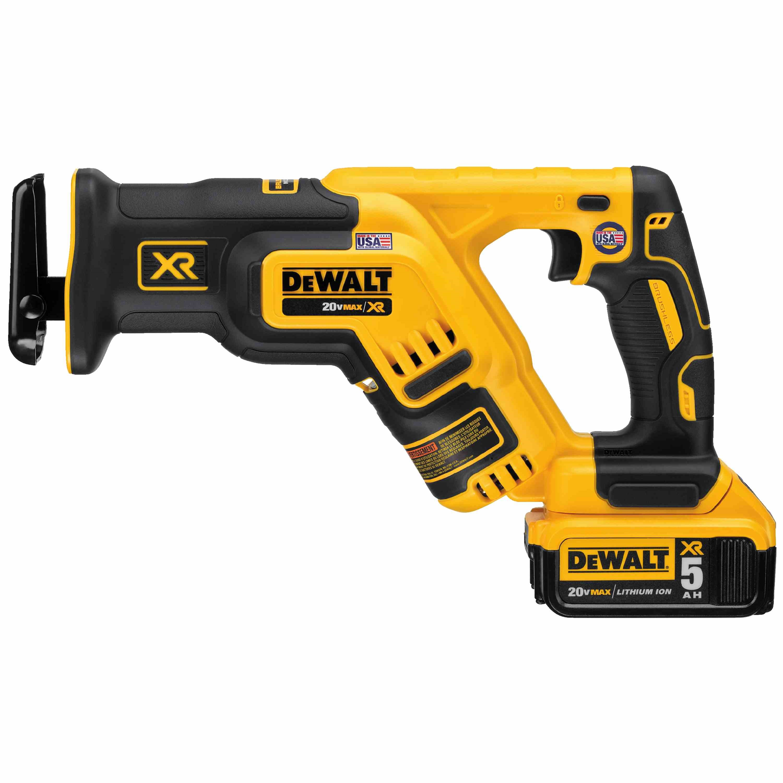 20V MAX* XR® Brushless Compact Reciprocating Saw Kit (5.0 Ah)