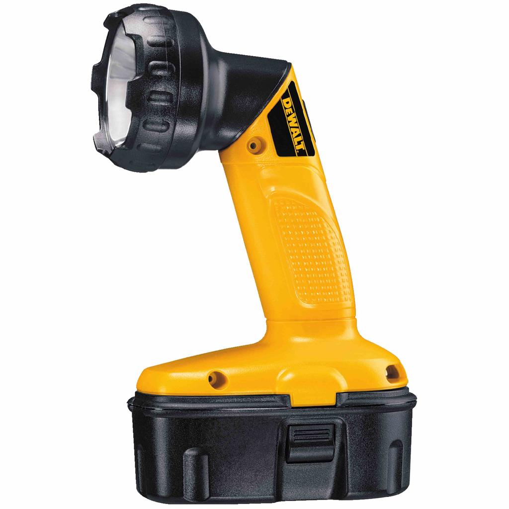 DEWALT DW908 18 Volt Cordless Pivoting Head Xenon Flashlight