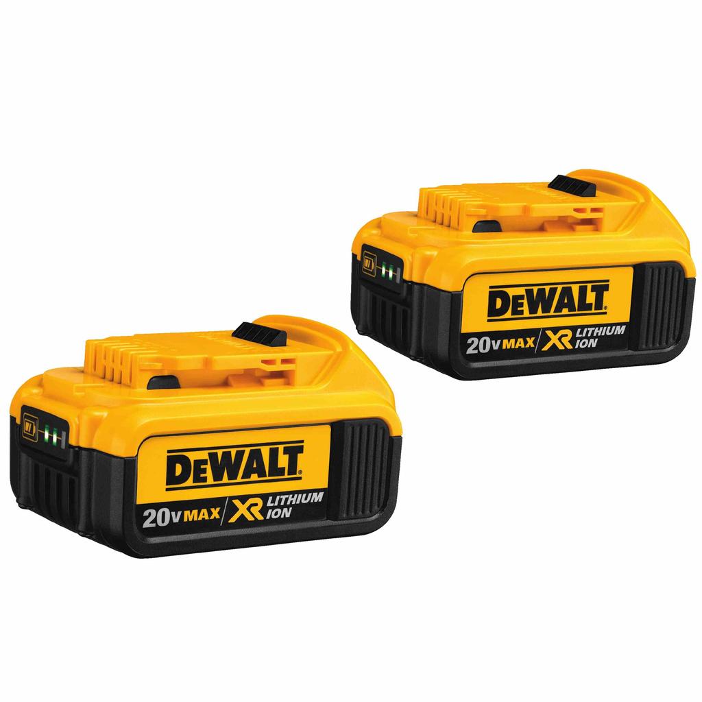 DEWALT DCB204-2 20 Volt Lithium-Ion Battery