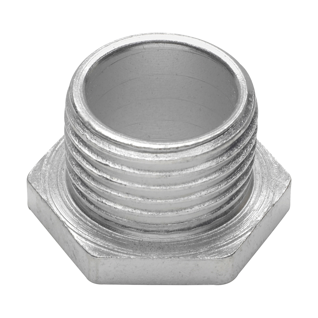 CROUSE-H 57 3-IN MALLEABLE BUSHED OR CHASE NIPPLE