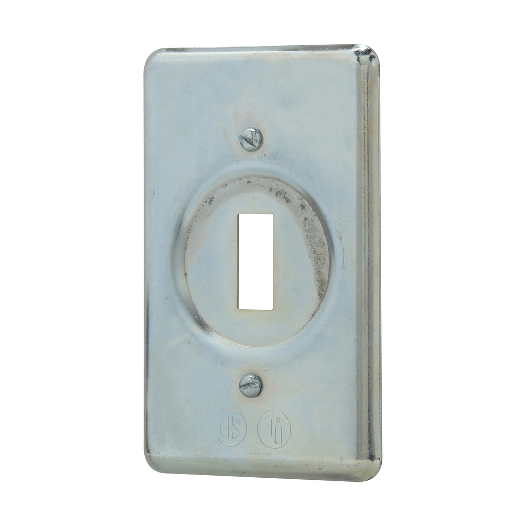 CROUSE-H DS32 STEEL FS SWITCH COVER 1GANG