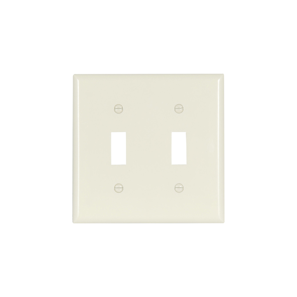 EWD 2139A-BOX Wallplate 2G Toggle T