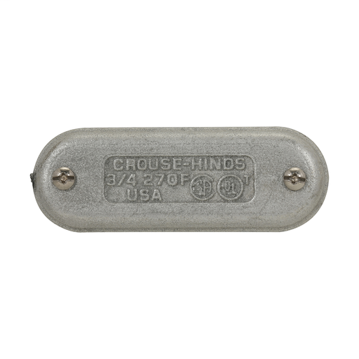 Eaton's Crouse-Hinds series Condulet Form 7 Wedge Nut Cover