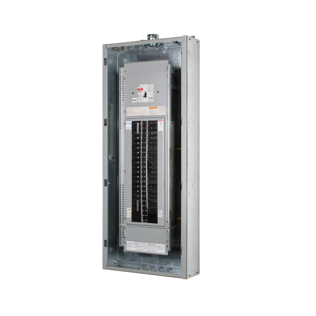 Eaton Electrical PRL2A3225X42CS 480 Star/277 VAC 225 Amp 42 Circuit 3-Phase 4-Wire Copper Main Lug/Main Breaker Panelboard