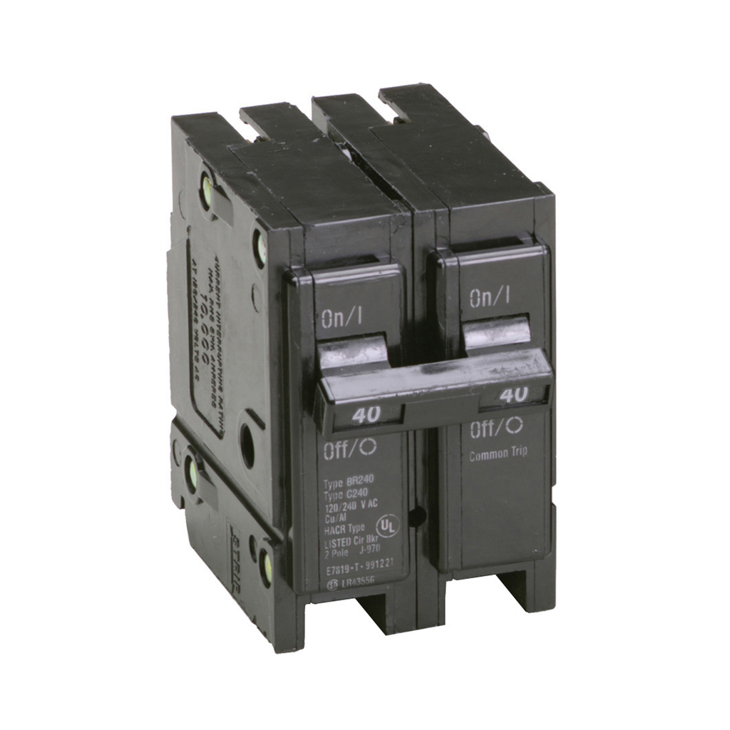 Eaton Electrical BR240 1 Inch Type BR Plug-On Circuit Breaker