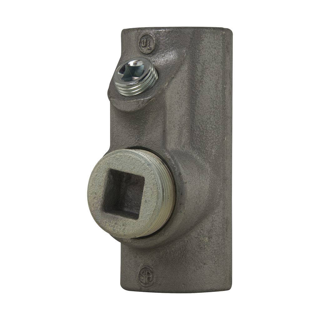 Crouse-Hinds Series EYS8 3 Inch Female Hub Electrogalvanized Ductile/Iron Alloy Conduit Sealing