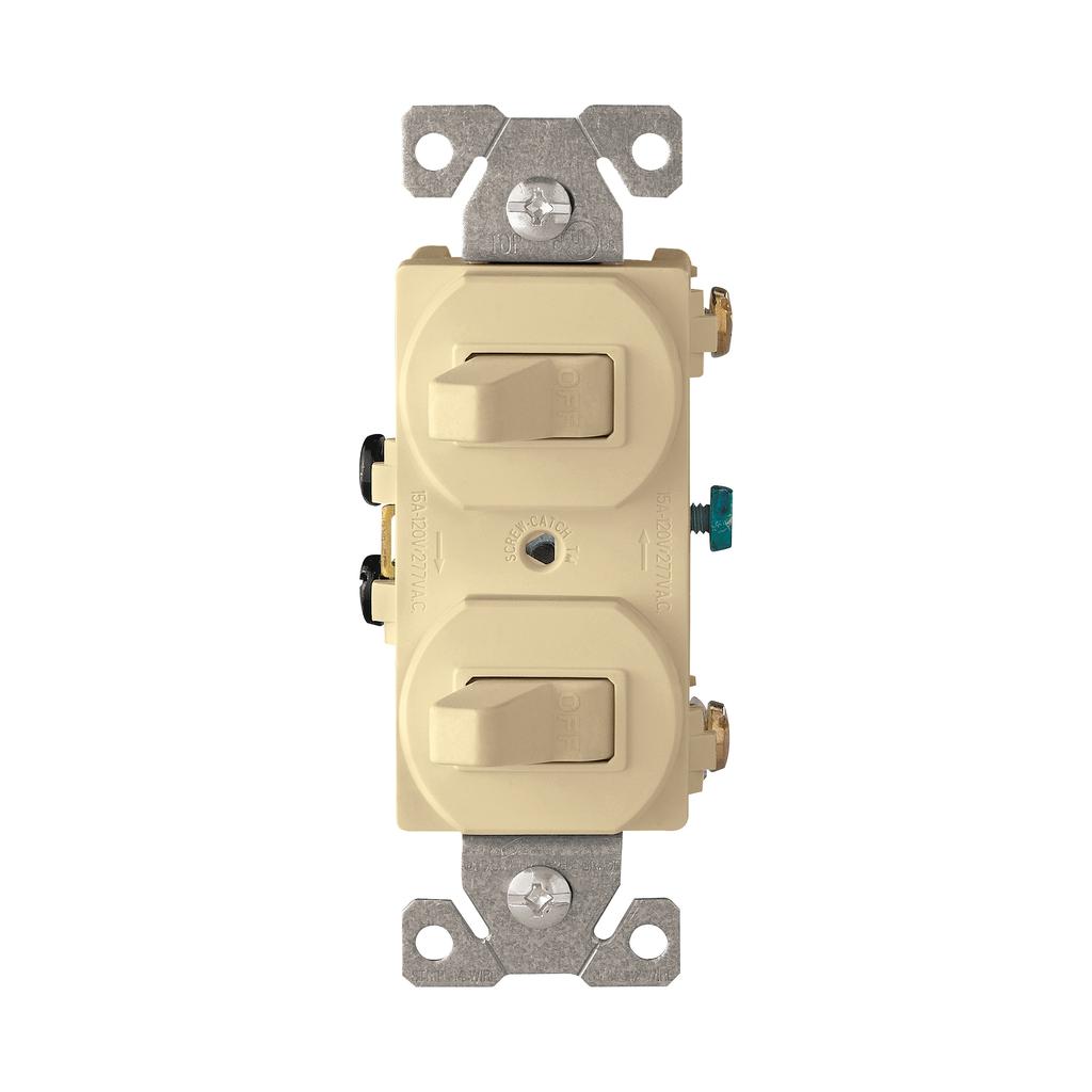 EWD 271V-BOX Switch Duplex Comb SP/