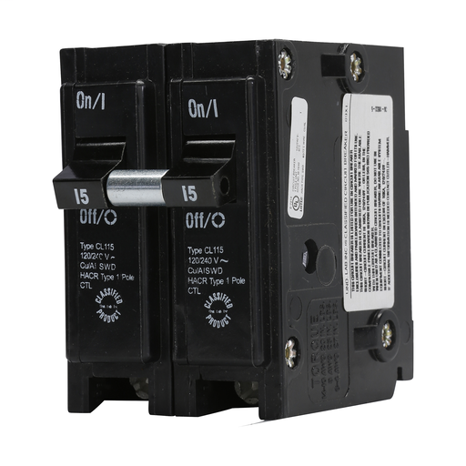 GE THQP120 20A 120V 1 POLE Slim CIRCUIT BREAKER Clip In
