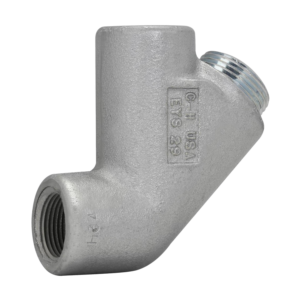 Crouse-Hinds Series EYS29 3/4 Inch Hub Electrogalvanized Ductile/Iron Alloy Conduit Sealing