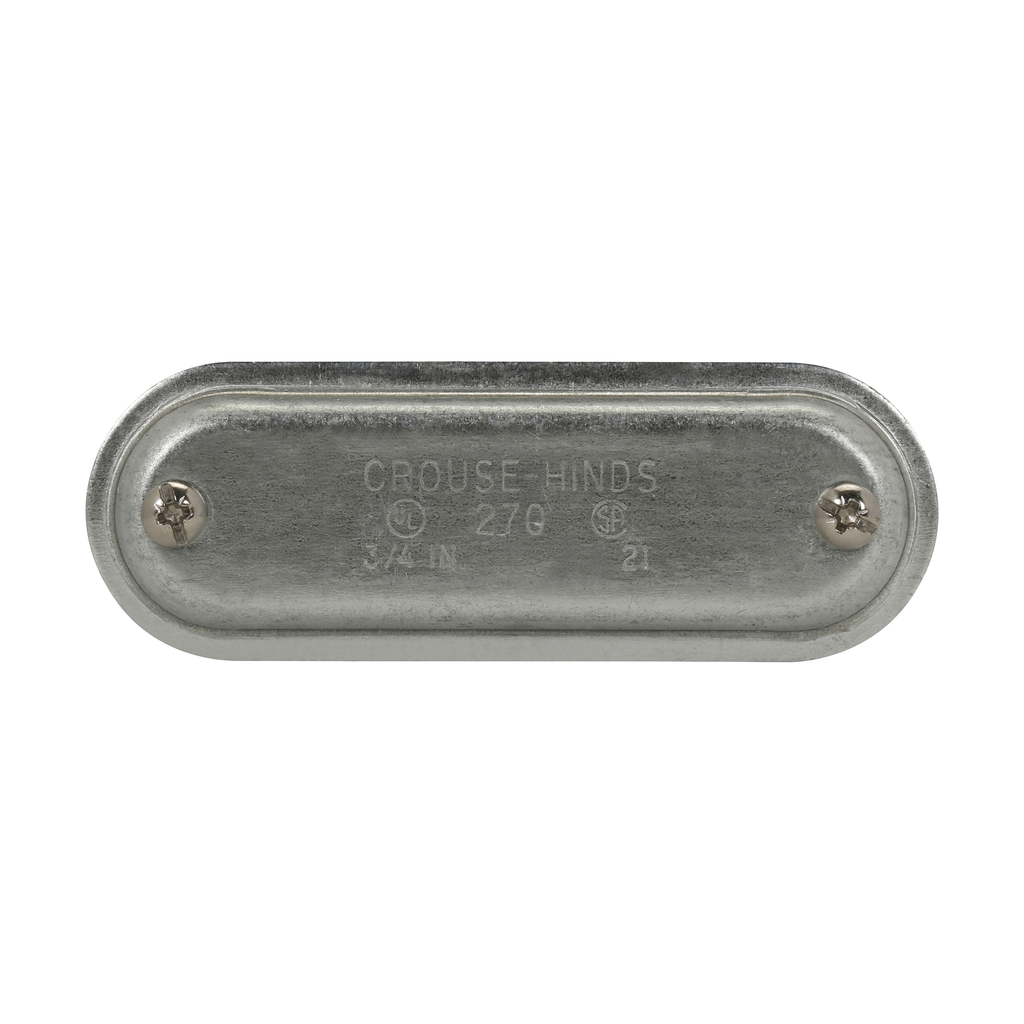 Eaton's Crouse-Hinds series Condulet Form 7 Wedge Nut Cover with Integral Gasket