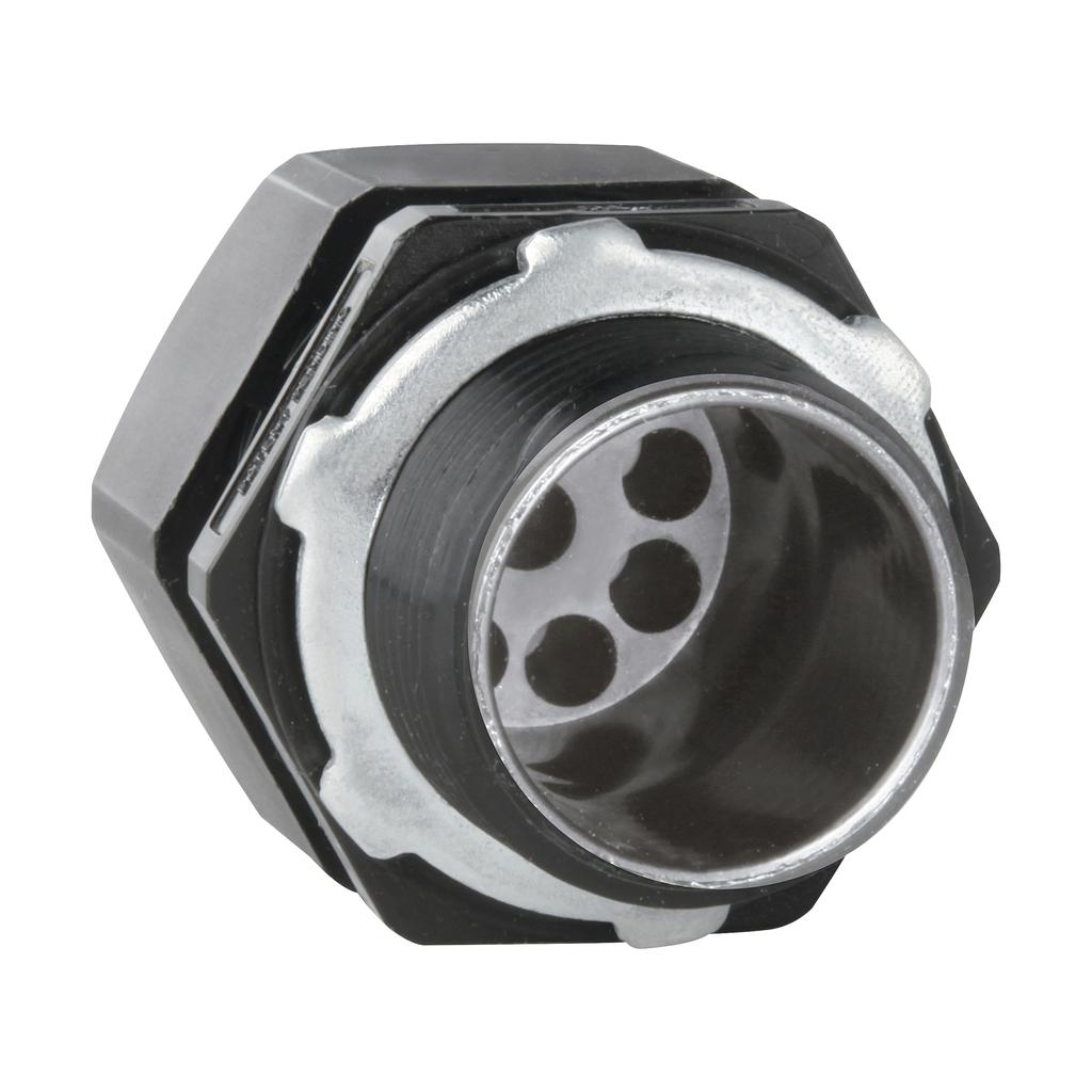 Crouse-Hinds Series NCGS237 3/4 Inch Nylon 6/6 3-Hole Solar Cord Grip