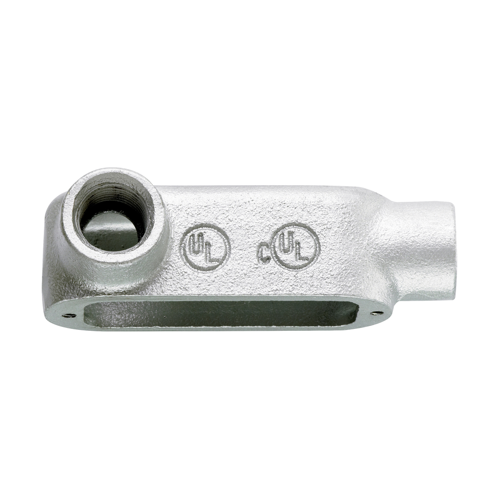 CROUSE-H LL100M 1-IN FORM5 TYPE-LL MALLEABLE CONDUIT BODY