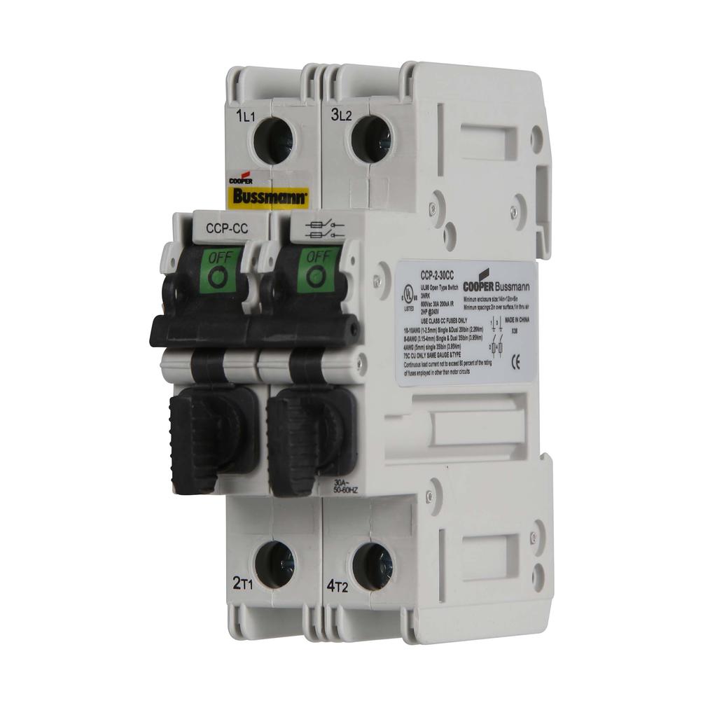 Eaton Bussmann CCP-2-30CC 2-Pole Class Compact Circuit Protector