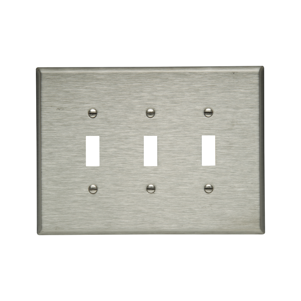 EWD 93873-BOX Wallplate 3G Toggle O