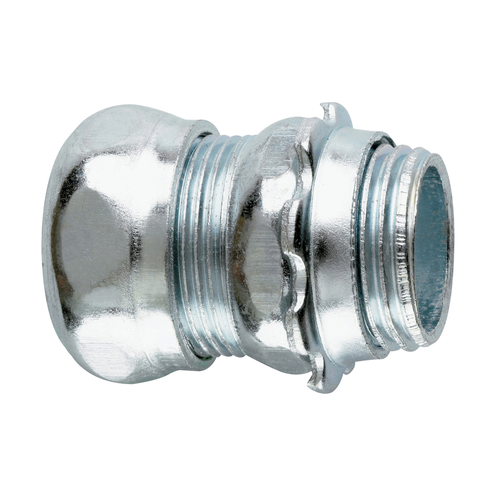 CROUSE-H 650S 1/2-IN EMT STEEL COMPRESSION CONNECTOR
