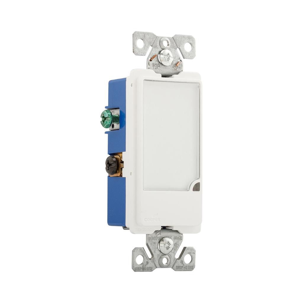 Cooper Wiring Devices,7737W-BOX,FULL HALLWAY NIGHTLIGHT 120V WH