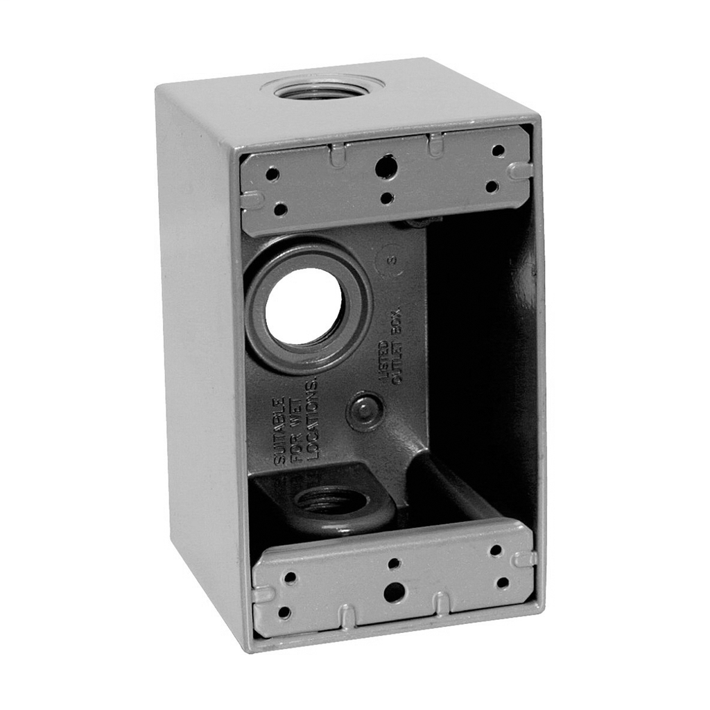Eaton's Crouse-Hinds series Weatherproof Outlet Box