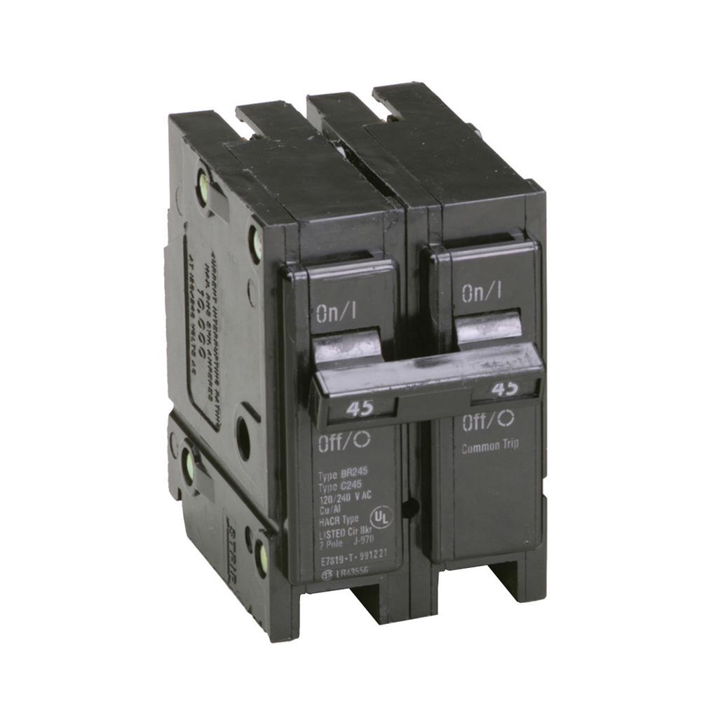 Eaton Electrical BR245 1 Inch Plug-On Circuit Breaker