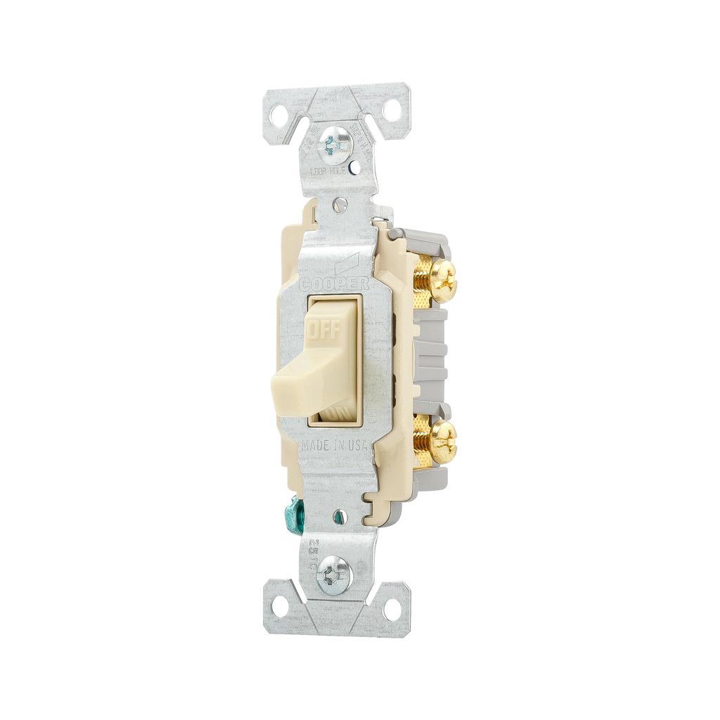 Arrow Hart Wiring CS120V 20 Amp Ivory Toggle Switch