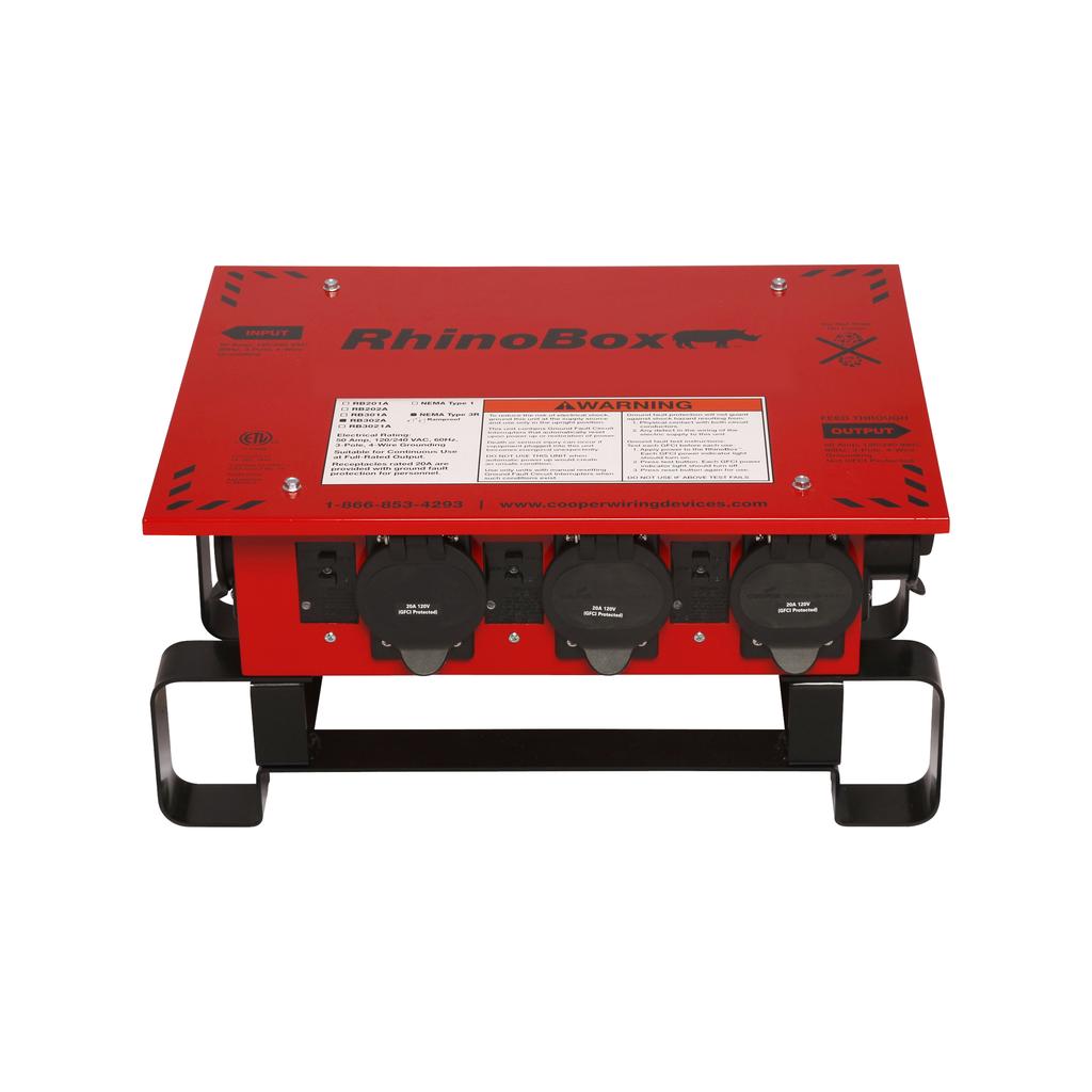 EWD RB302A RhinoBox 50A125/250V NEM