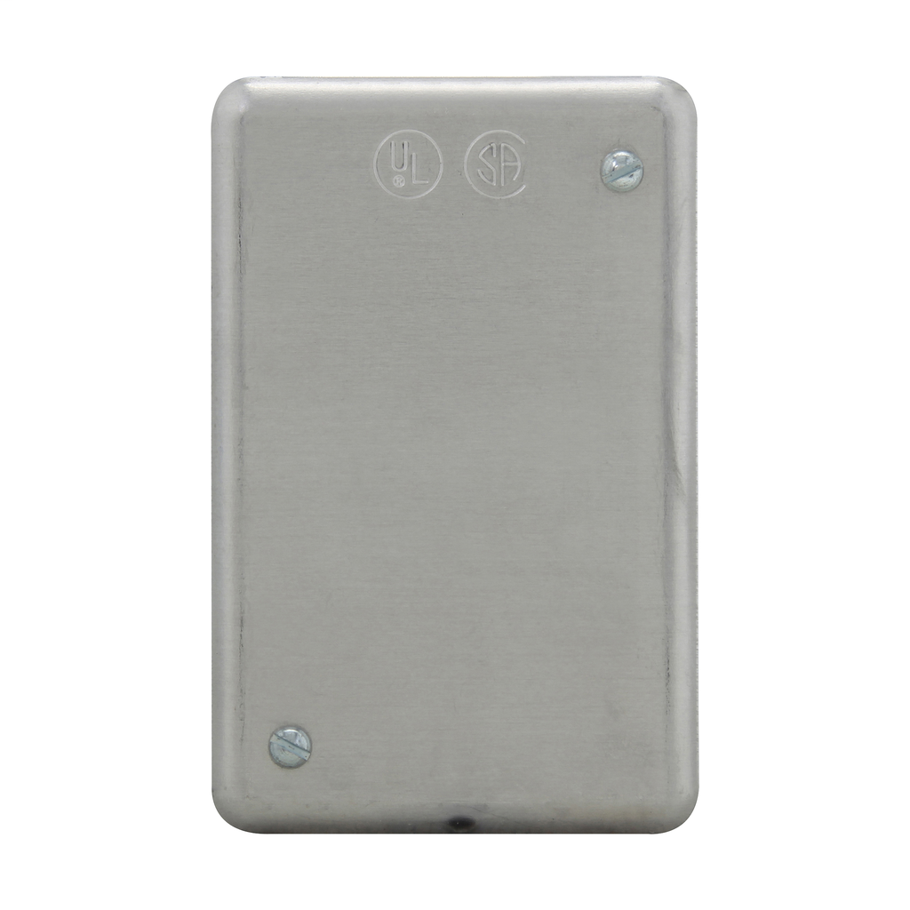 CROUSE-H DS100 STEEL FS BLANK COVER 1GANG