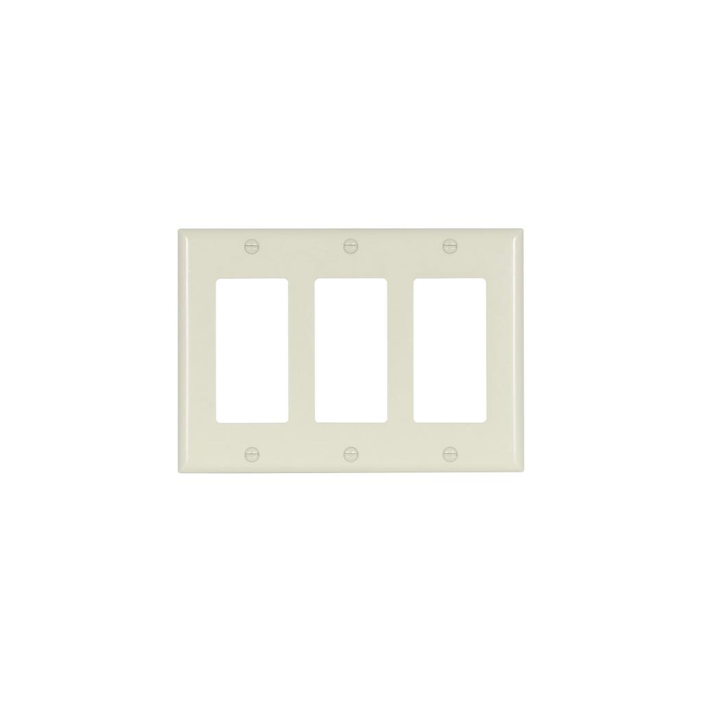 EWD 2163A-BOX Wallplate 3G Decorato