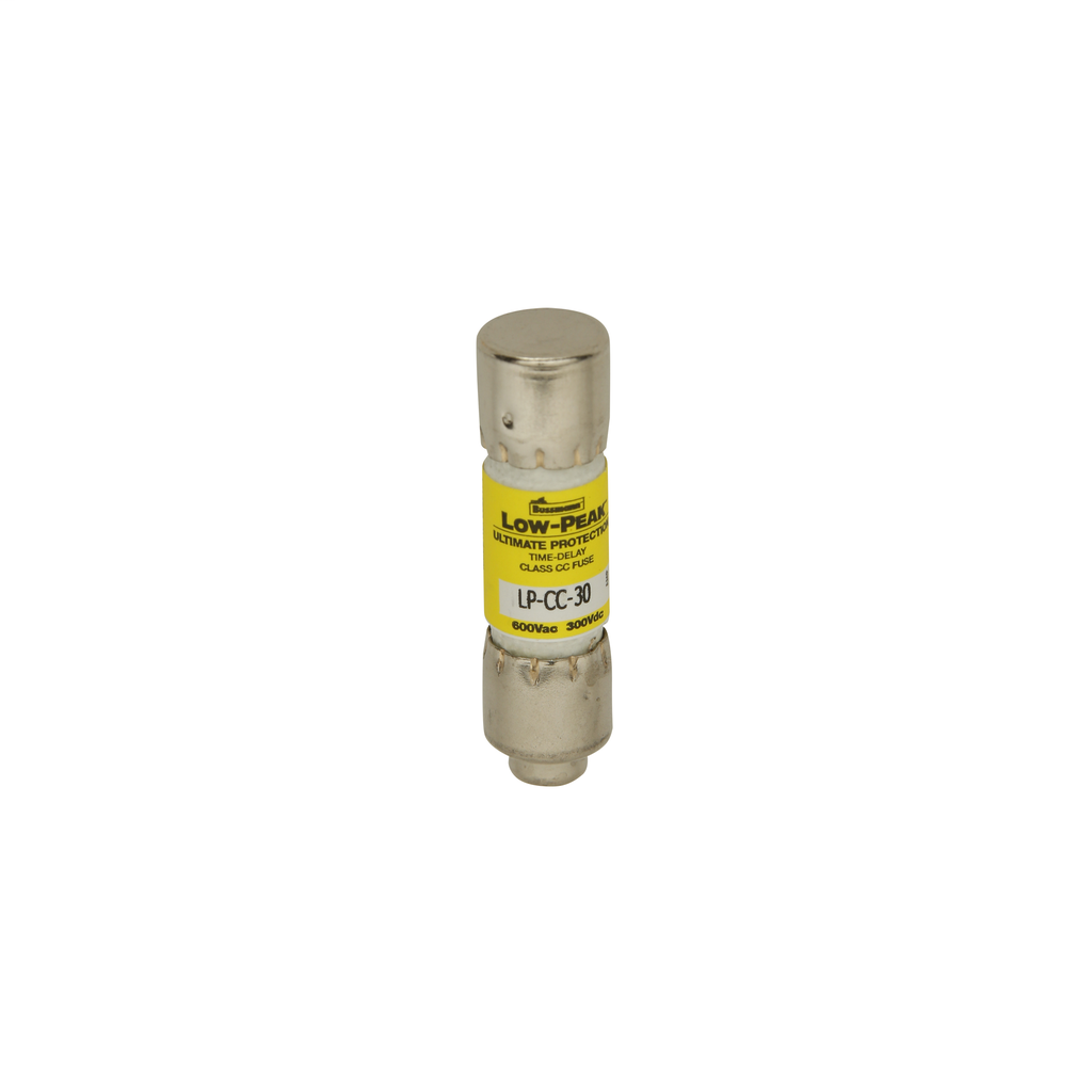 BUSSMANN LP-CC-8 8AMP 600V LOW-PEAK TIME-DELAY FUSE