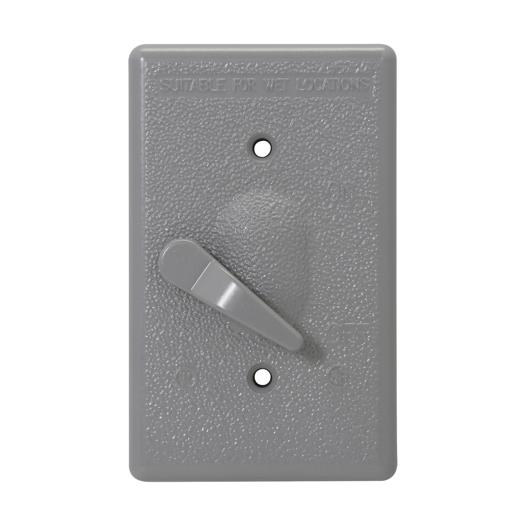 Crouse-Hinds Series TP7280 1-Gang 50/Box Weatherproof Switch Cover