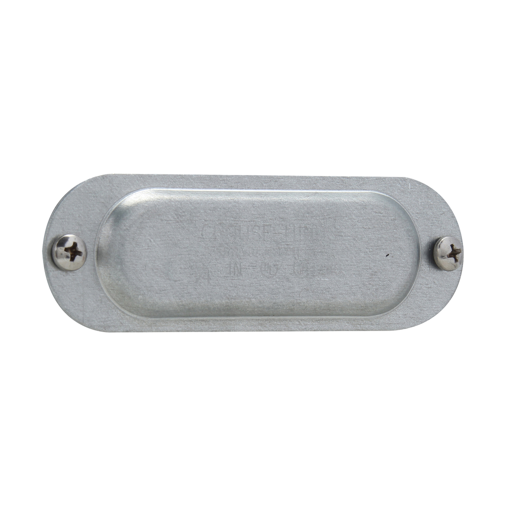 Crouse-Hinds Series 580 1-1/2 Inch Sheet Steel Form8 Conduit Blank Cover