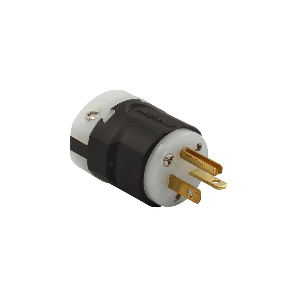 Arrow Hart Wiring AH5466 2-Pole 20 Amp 250 Volt Ultra Grip Plug