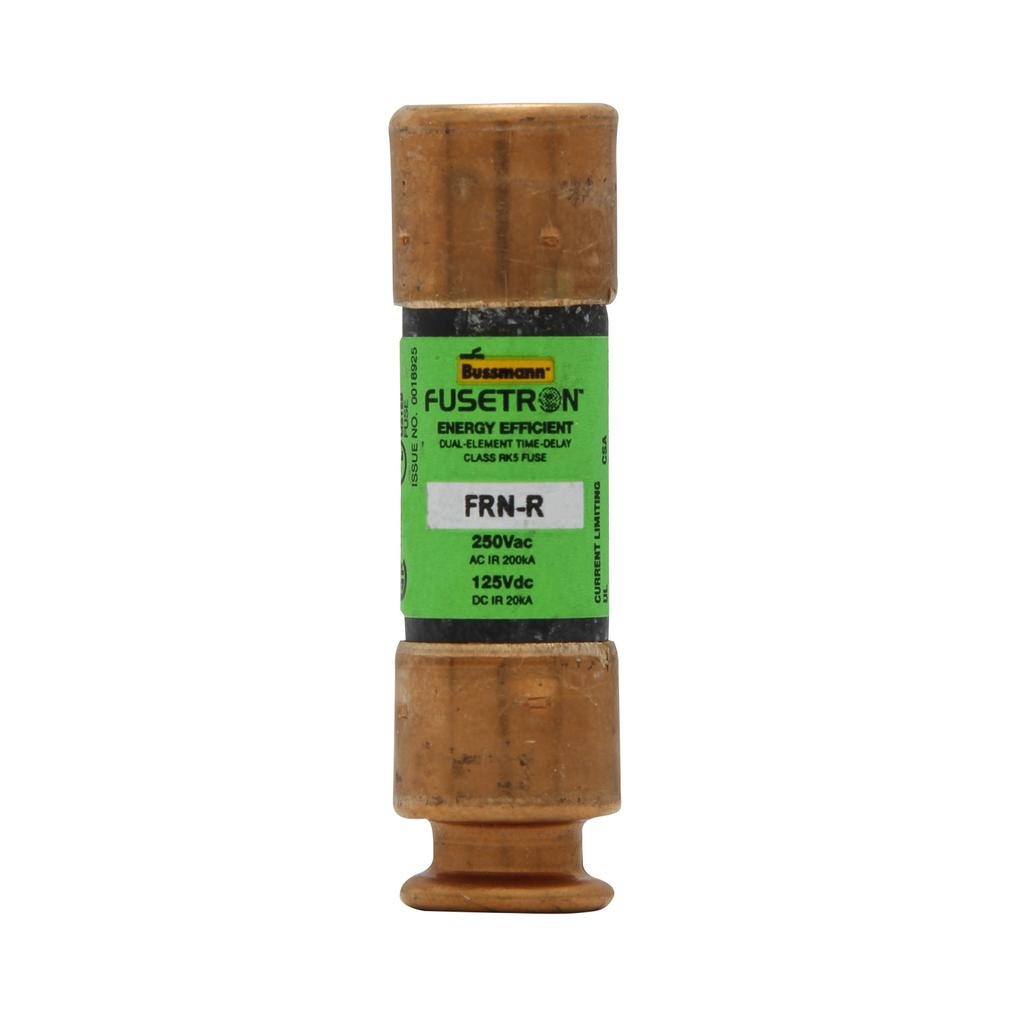 BUSSMANN FRNR12 12AMP 250V DUAL-ELEMENT RK5 TIME-DELAY FUSE