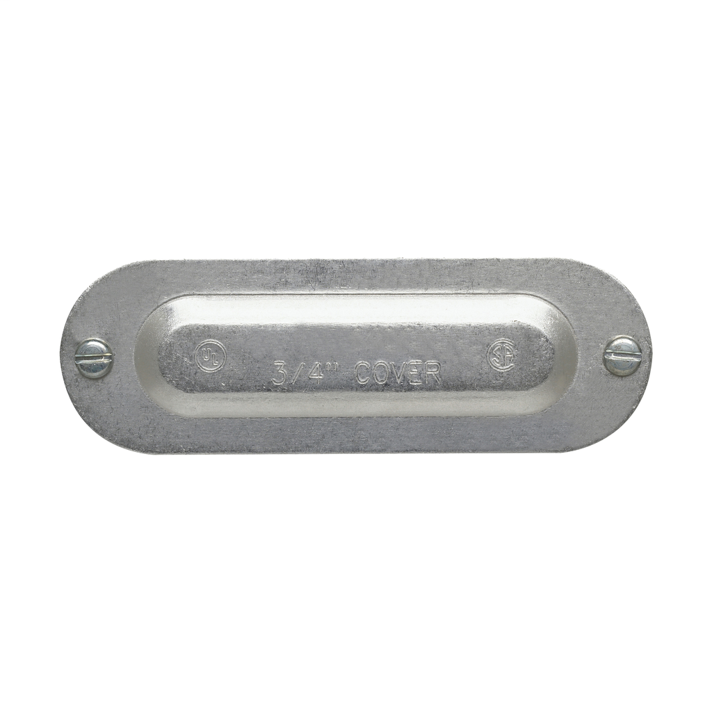 Crouse-Hinds Series 250 3/4 Inch Die-Cast Aluminum Conduit Body Cover
