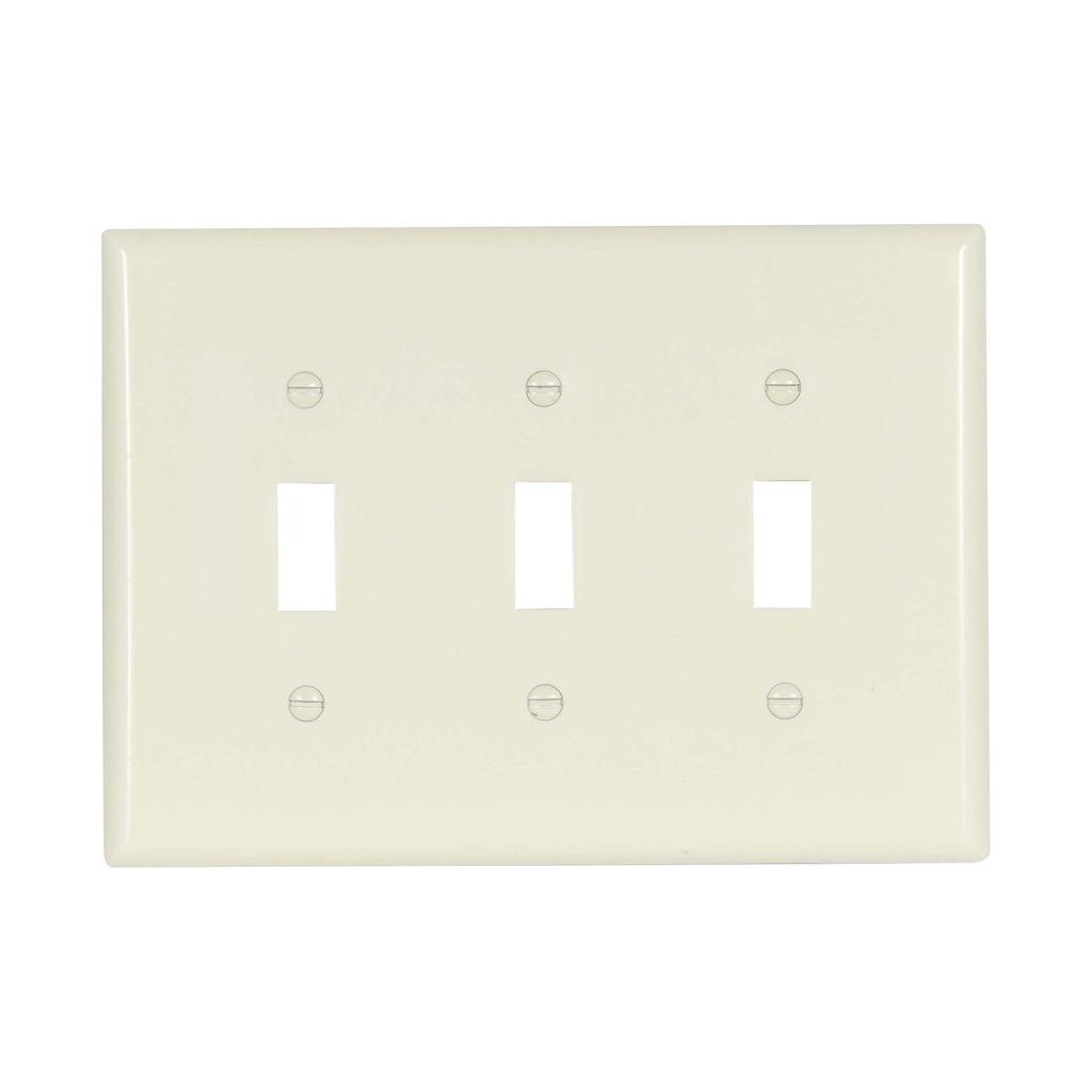 EWD 2041A Wallplate 2G Toggle Therm
