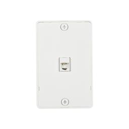 Wall Plates, Resi - Phone / Coax
