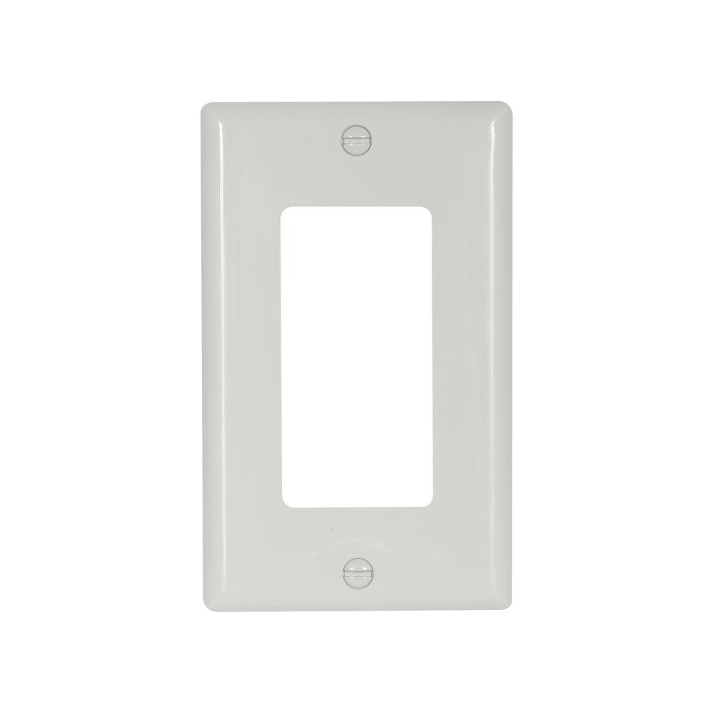 EWD 5151W-BOX Wallplate 1G Decorato