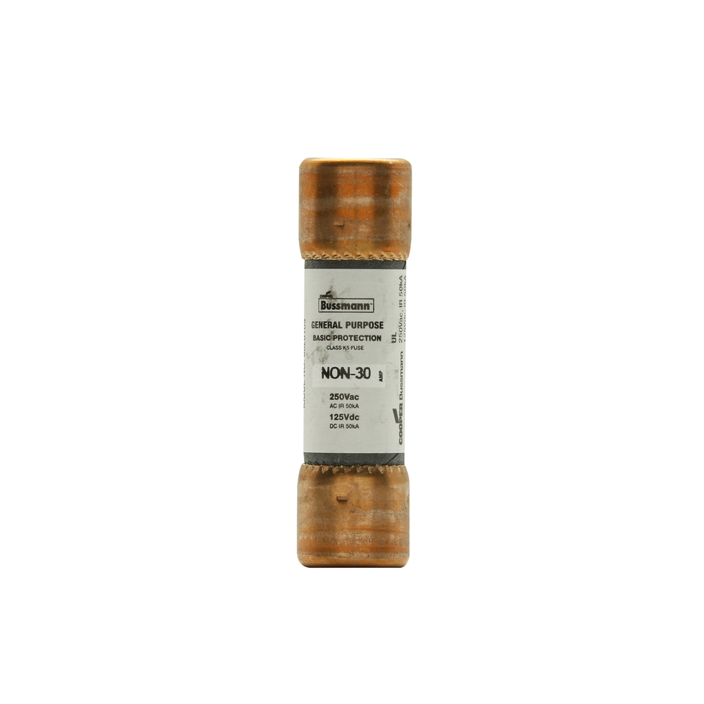 BUSSMANN NON6 250V CLASS H ONE-TIME GENERAL PURPOSE FUSE