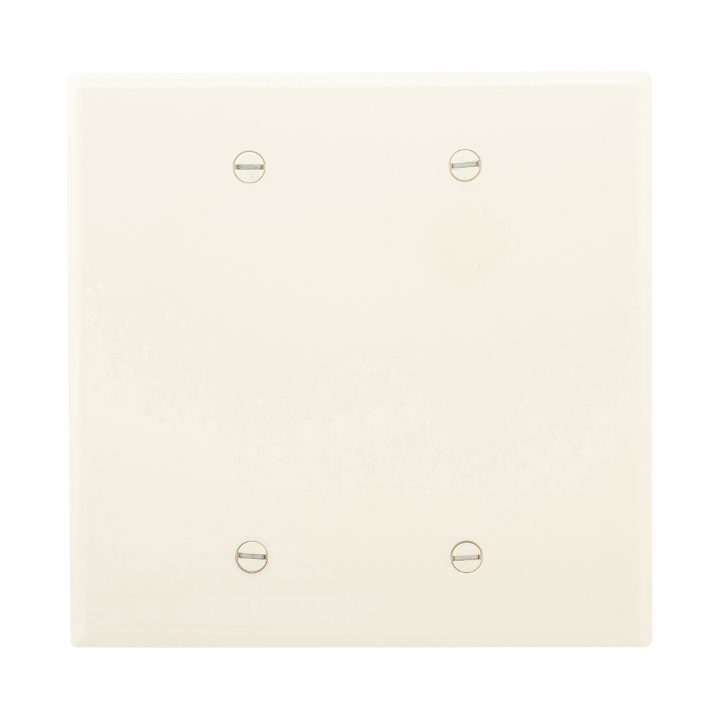EWD PJ23A Wallplate 2G Blank Box Mo