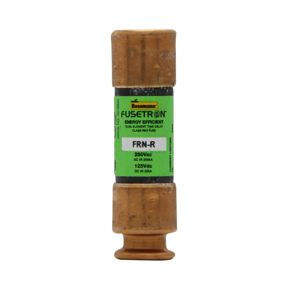BUSSMANN FRNR5 250V DUAL-ELEMENT RK5 TIME-DELAY FUSE