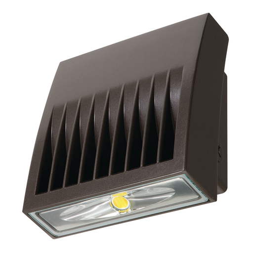 Lumark XTOR2B Crosstour LED 18 Watt Wall Pack Fixture 120-277V, 5000K, 70 CRI, 2135 Lumens, 72000 Hour, CU/cUL Wet Locations/IP66 (Replaces 150W MH) Die Cast Aluminum, Carbon Bronze (Can Use As Floodlight If Optional Accessories Purchased)