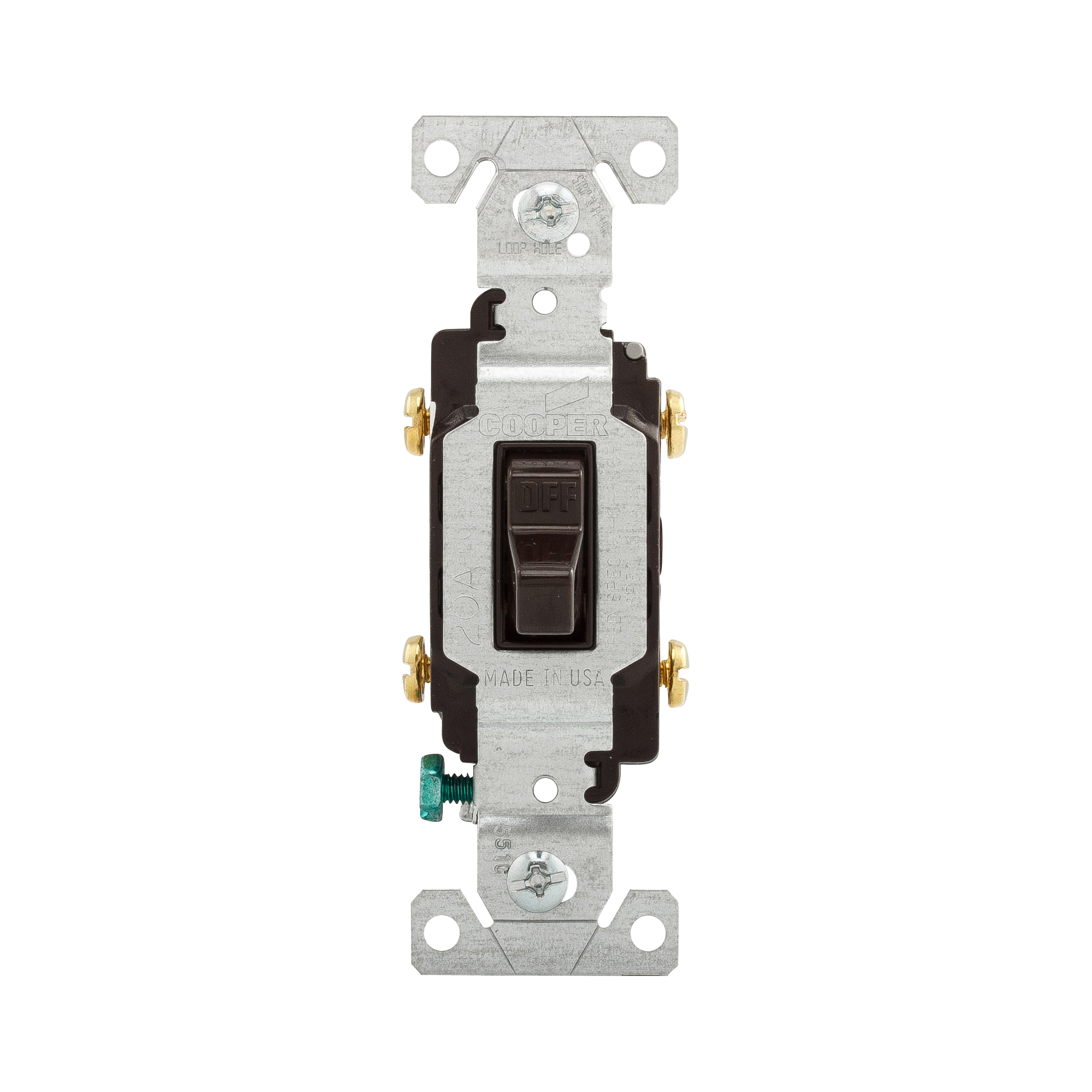 COOPER WIRING DEVICES Toggle Switch