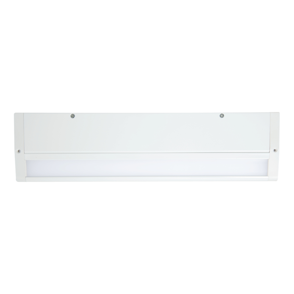 Halo HU1024D930P Under Cabinet Light, (1) LED Lamp, 450 W Fixture, 120 V, White Housing